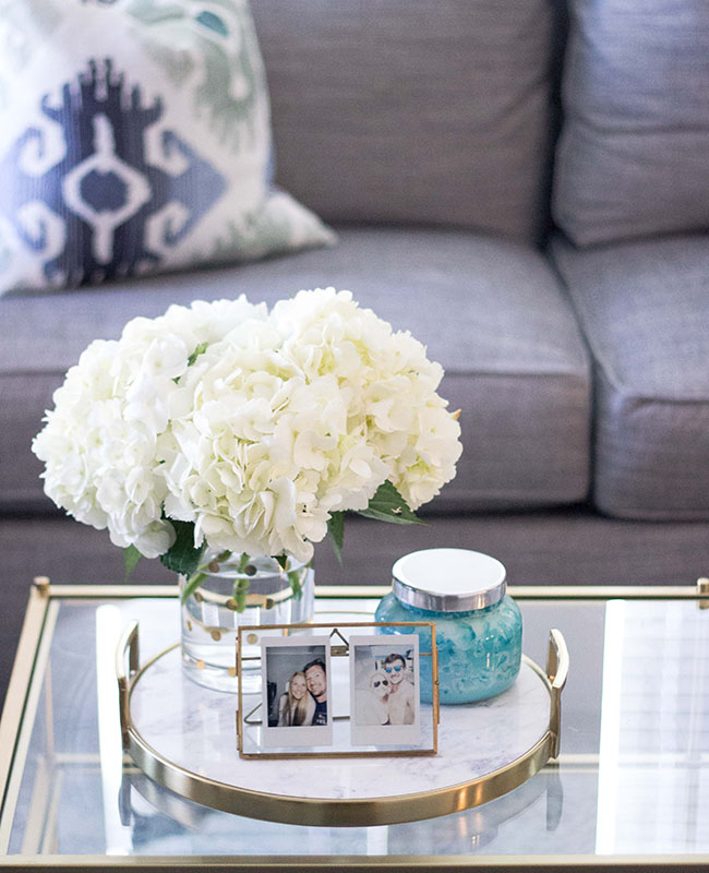 How To Style A Coffee Table X Capri Blue