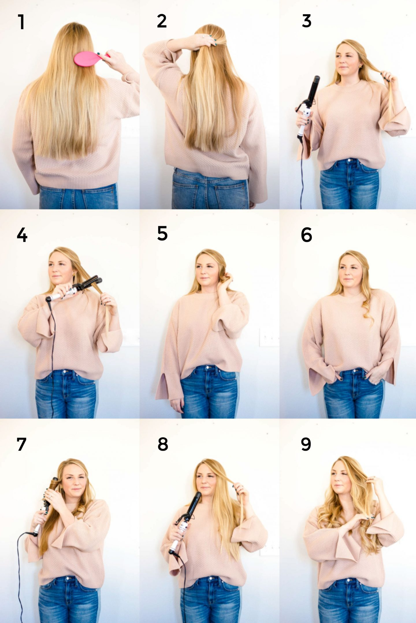 Everyday Curl Step by Step
