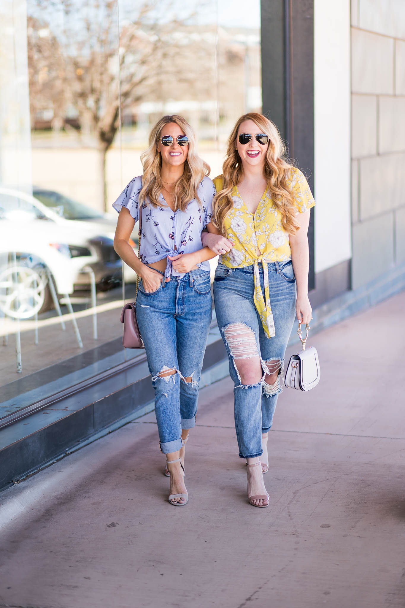 Spring Florals and Sweet Friends